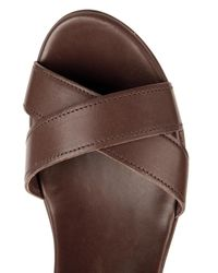Weekend by Maxmara Brown Musette Wedges
