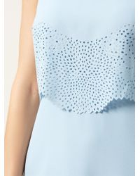 Hobbs Blue Petal Dress