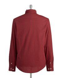 Original Penguin | Checkered Sportshirt for Men | Lyst
