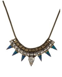 Lionette | Blue Pangea Necklace | Lyst
