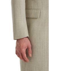 Matthew Miller - Gray Grey Kvadrat Durden Overcoat for Men - Lyst