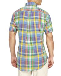 Mine | Multicolor Madras Button-Down Shirt for Men | Lyst
