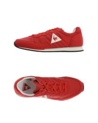 Le Coq Sportif - Red Low-tops & Trainers for Men - Lyst