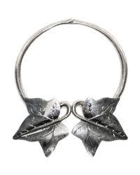 Alexander McQueen Metallic Ivy Choker