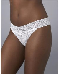 Hanky Panky | White I Do Orginal Thong | Lyst