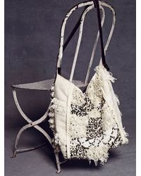 Free People Natural Womens Moroccan Love Hobo