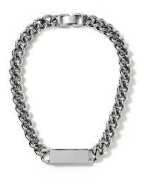 Banana Republic - Metallic Link Id Necklace - Lyst