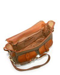 Ralph Lauren Collection - Green Hunting Canvas Messenger Bag - Lyst
