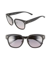 Tory Burch | Black 53mm Polarized Sunglasses | Lyst