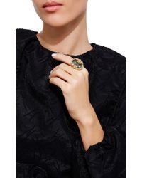 Sidney Garber | Green Coiled Snake Ring | Lyst