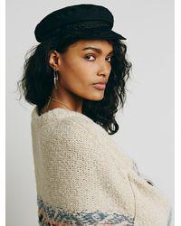Free People | Natural Alpaca Fairisle Tunic Sweater | Lyst