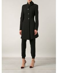 Vivienne Westwood Anglomania - Black Shawl Collar Single Breasted Coat - Lyst