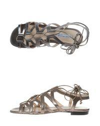 Duccio Venturi - Gray Greek Sandals - Lyst