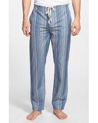 Paul Smith Blue 'iconic' Stripe Cotton Pajama Pants for men