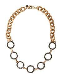 Camille K - Metallic Garland Necklace I - Lyst