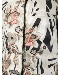Etro Natural Printed Padded Jacket