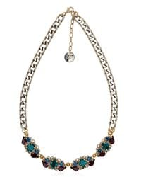Anton Heunis Metallic Bollywood Princess Collection Necklace