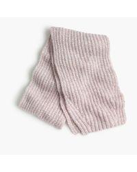 J.Crew Pink Marled Knit Scarf