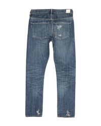 Citizens of Humanity - Blue Faded Wash Corey Straight Slim Jeans - Lyst