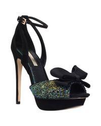 Miss Kg Green Ellie Suedette High Heel Sandals