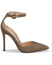 Gianvito Rossi - Black 'portofino' Sandals - Lyst
