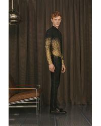 HUGO - Silk Tie With Contrasting Lace In Metallic Look: 'tie 6 cm' for Men - Lyst