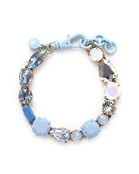 J.Crew | Multicolor Mixed Stone Bracelet | Lyst