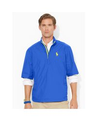 Ralph Lauren | Blue Short-sleeve Windbreaker for Men | Lyst