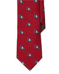 Lauren by Ralph Lauren | Red Nautical Flag Silk Tie for Men | Lyst