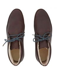 Paul Smith - Brown Loomis Leather Chukka Boots for Men - Lyst