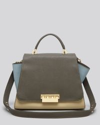 Lyst Zac Zac Posen Satchel Eartha Saffiano Colorblock