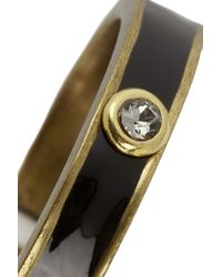 Isabel Marant - Black Panarea Gold-tone Ring - Lyst