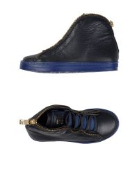 Bikkembergs - Blue High-tops & Trainers - Lyst