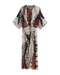 Roberto Cavalli - White Long Dress - Lyst