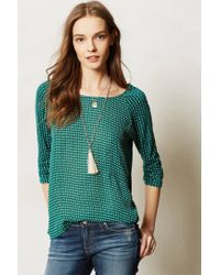 Anthropologie - Metallic Nkl Pearl Tassel - Lyst