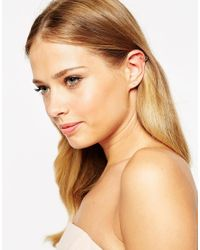 ASOS Multicolor Mismatch Ear Cuff And Stud Pack