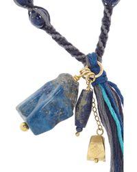 Chan Luu | Blue Lapis Lazuli Beaded Necklace | Lyst