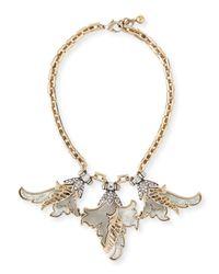 Lulu Frost - Metallic Nightshade Crystal Statement Necklace - Lyst