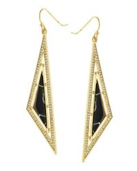 CC SKYE | Black Oasis Earrings | Lyst