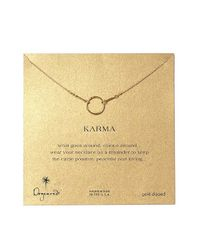 Dogeared | Metallic Original Karma Necklace | Lyst