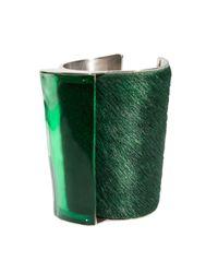 Isabel Englebert | Green London Babe Cuff Silver | Lyst