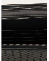 Bottega Veneta Black Woven Clutch for men