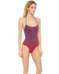 Marc By Marc Jacobs | Purple Aurora One Piece Swimsuit | Lyst