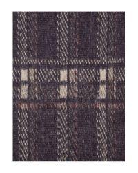Max Mara Blue Cambra Printed Wool Blend Scarf