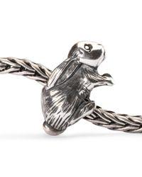 Trollbeads | Metallic Arabian Hare Sterling Silver Charm Bead | Lyst