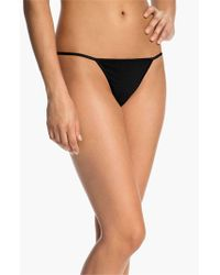 Cosabella | Black 'talco' G-string Thong | Lyst