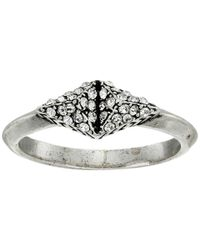 House of Harlow 1960 | Metallic Sama Pave Ring | Lyst