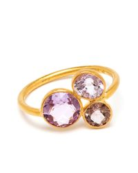 Marie-hélène De Taillac | Pink 18K Yellow Gold And Spinel Ring | Lyst