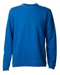 Lucien Pellat Finet | Blue Skull Graphic Sweatshirt for Men | Lyst