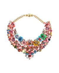 Shourouk | Multicolor Botanica Multi Necklace | Lyst